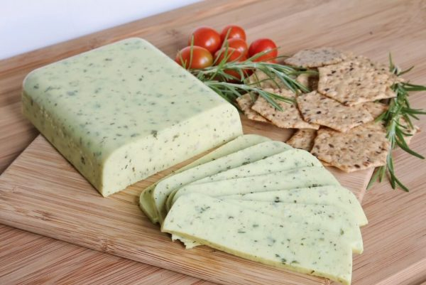 Vegan Cheese with Herbs