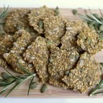 raw seed crackers