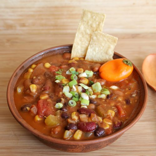 veggie chili bowl