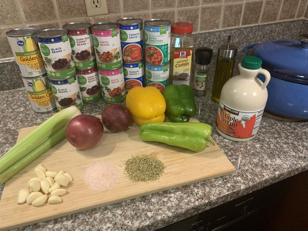 veggie chili ingredients