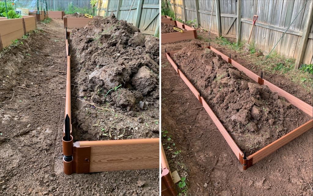 raised bed first level