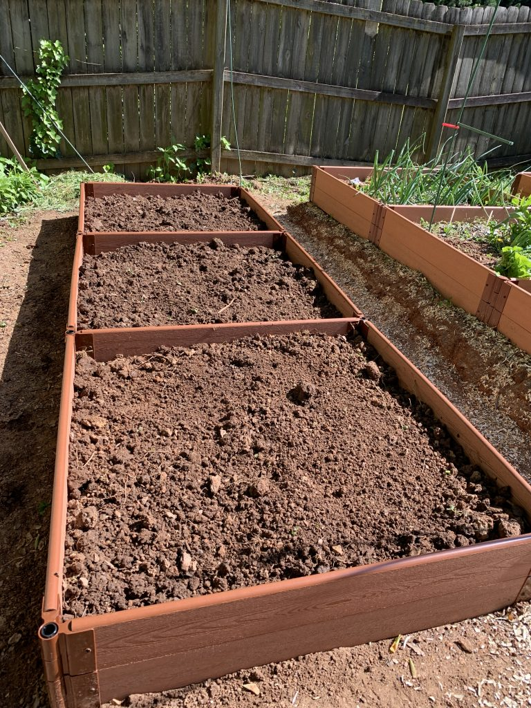 complete raised garden bed