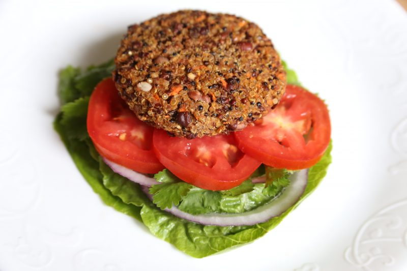 adzuki bean burger