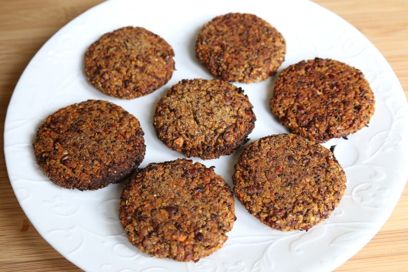 adzuki bean patties
