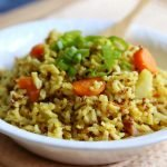 Brown Rice and Quinoa Pilaf
