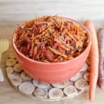 ginger carrot slaw
