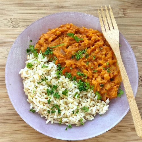 Easy Vegan Lentil Curry