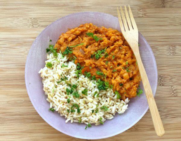 Easy Vegan Lentil Curry