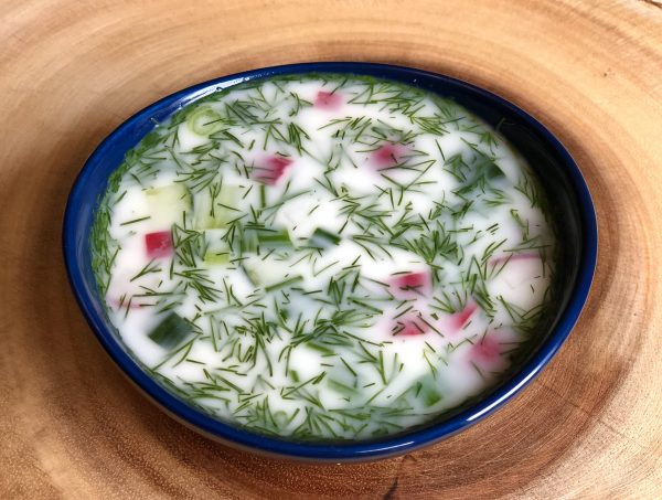 Okroshka – Chilled Russian Soup