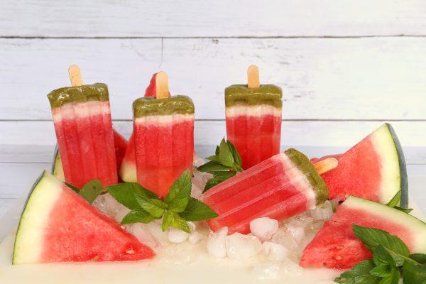 Watermelon Popsicles