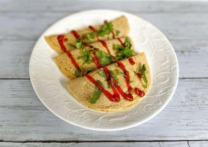 vegan pancake pierogi